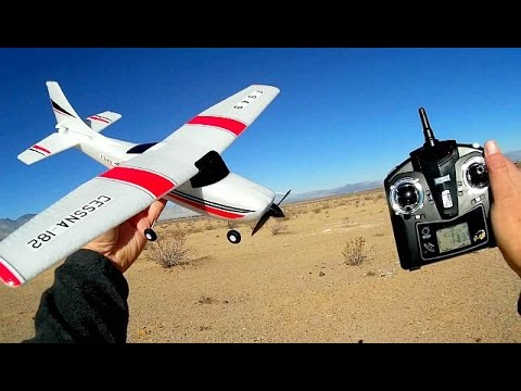 WLToys F949 Long Flying RC Trainer Airplane Flight Test Review