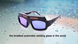 the smallest automatic welding glass in the world
