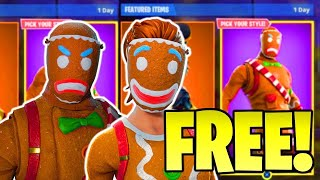 *GLITCH* HOW TO GET MERRY MARAUDER SKIN FOR FREE! IN FORTNITE BATTLE ROYALE! (GINGERBREAD SKIN!)
