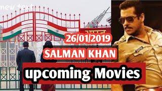 Salman khan upcoming movies || Bharat || Dabang 3|| being updated