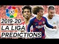 My 2019-20 La Liga Predictions and League Preview (Primera División)