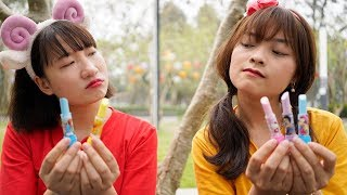 Hai Chị Em Tham Lam – Dạy Bé Biết Nhường Nhịn Nhau ❤ BIBI TV ❤