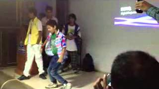 chunky sir with his super cool boy rohan parkale dance india dance in our school imperial academy