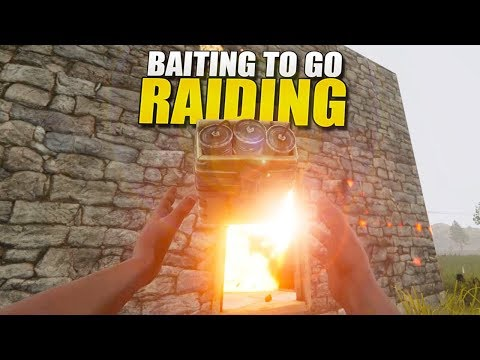 BAITING To Go RAIDING (Rust Survival) #120