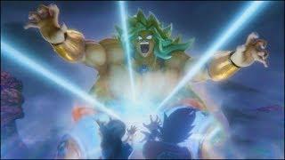 Super Saiyan God Broly vs Goku Teaser Trailer from New 2017 Dragon Ball Z 4D Movie Event [OFFICIAL]