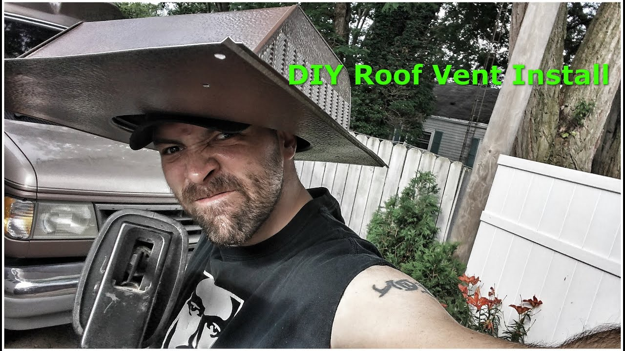 How To Install A Roof Vent In Your Van For Proper