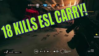 Rainbow Six Siege Live - PC | 18 Kills in ESL! (Pulse/Thatcher Gameplay)
