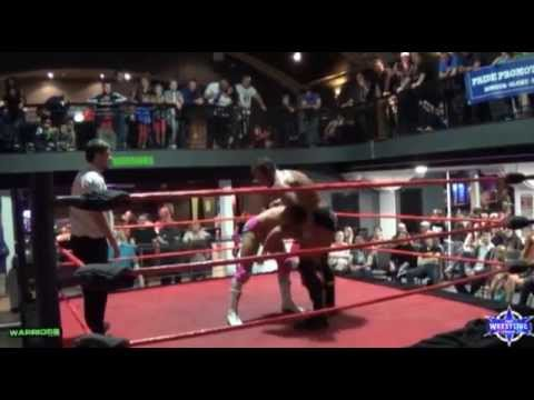 Former NXT star Joel Redman VS C2 Tyler Hawke w/Calum Cain - Pro wrestling Pride