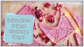 5 Shawls in 5 Days Challenge - Day 2