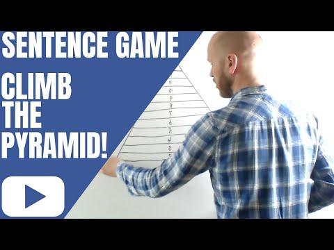 ESL Game - Climb The Pyramid! (English Sentence Structure) // The ESL Guy