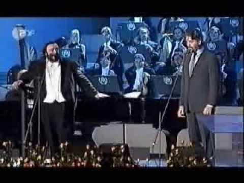 Pavarotti and Bocelli - L'ultima canzone + O paese d'o sole