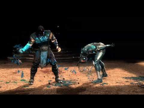 Mortal Kombat 9 Komplete Edition - SUB-ZERO ( Fatality 2 - Spinal Smash )