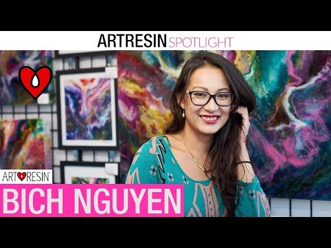 ArtResin Spotlight - Bich Nguyen