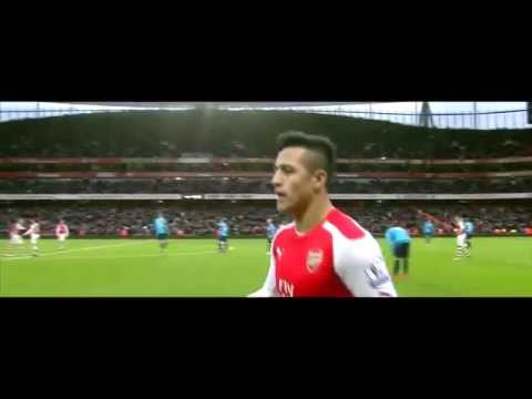 Alexis Sanchez Vs Stoke City 11/1/15 HD
