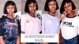 Aliexpress Shirt Haul   All Under $12