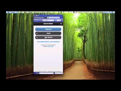 Mobile App (WALKTHROUGH) // SPLUNK