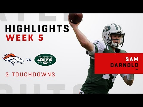 Sam Darnold Tosses 3 TDs in Victory Over Broncos