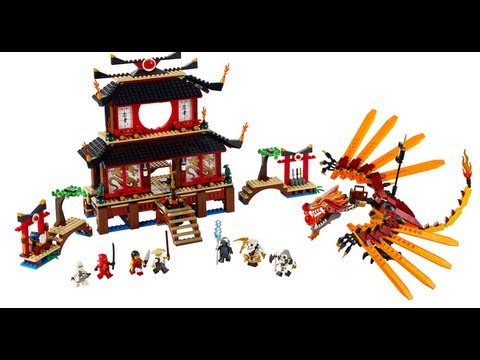 How To Build Lego Fire Temple 2507 3 Of 3 Instructions Youtube