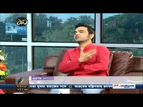 "Talk Show Ranga Shokal "" Special Guest Habib Wahid"""