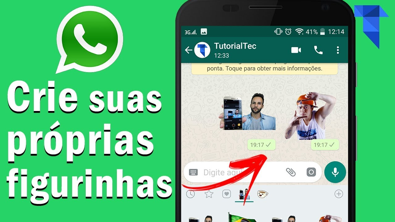 fazer figurinhas whatsapp iphone