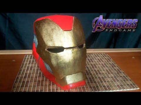 Как сделать Шлем Железного Человека Марк 85 из Мстители: Финал