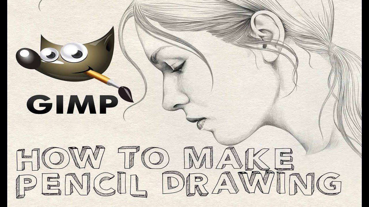 How to make pencil sketch for beginners pencil drawing convert image into pencil drawing quickly