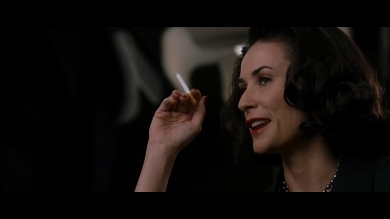 Demi Moore smoking cigarette compilation