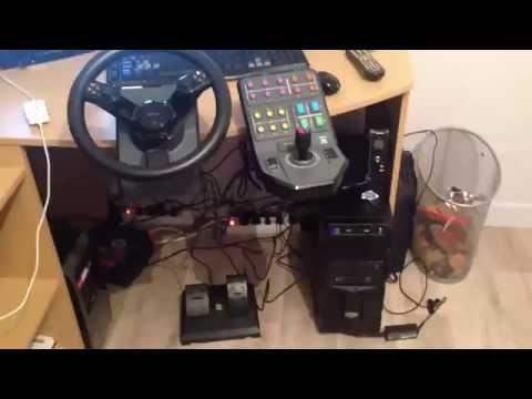 unboxing volant farming simulator youtube. Black Bedroom Furniture Sets. Home Design Ideas