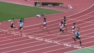 平成27年度 長崎市中総体男子3年100m