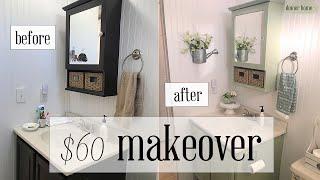 $60 BATHROOM MAKEOVER
