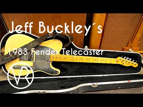 Jeff Buckley´s Fender Telecaster 1983 / THE ONE!!! / Chelsea Guitars / Vintage & RareTV