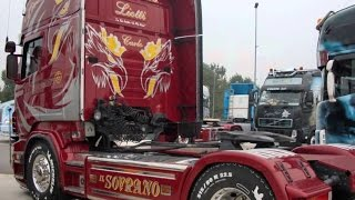 """Scania R620 """"Il Sovrano"""" Supersonic with revs"""