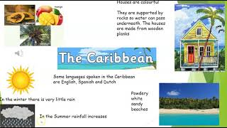 Lesson 3 Caribbean fact file poster Wednesday 24th Feb