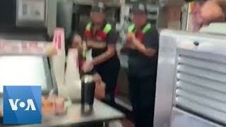 People Take Shelter in Burger King Amid Gunshots in Mexico
