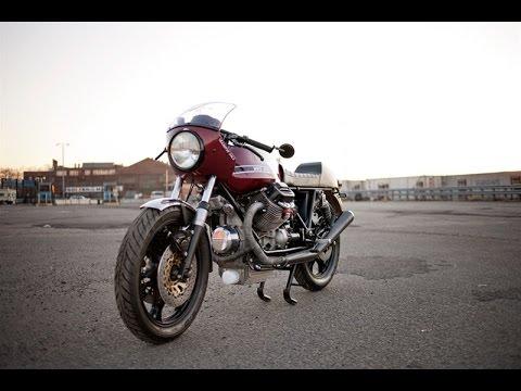 Cafe Racer Moto Guzzi Le Mans Youtube