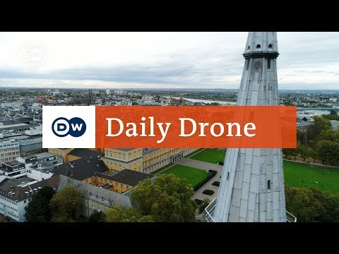 #DailyDrone: The Electoral Palace in Bonn | DW English