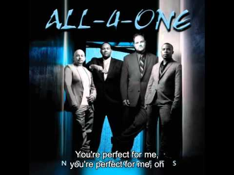 All 4 One Perfect with Lyric