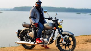 2020 Royal Enfield Classic 350 BS6 First Ride Review #Bikes@Dinos
