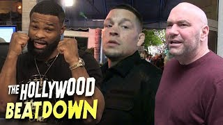Tyron Woodley Wants To Punch Dana White | The Hollywood Beatdown