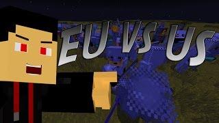 MineZ: EU vs US! SIMON SAYS!!