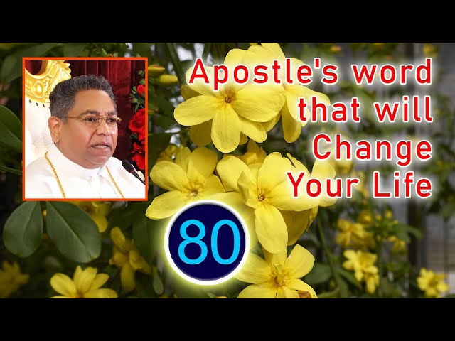 Apostle's word that will Change Your Life #80 | His Holiness Apostle Rohan Lalith Aponso