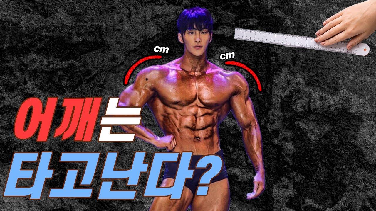 운동으로 어깨를 넓힐 수 있을까? 타고난 어깨는 이길 수 없을까?