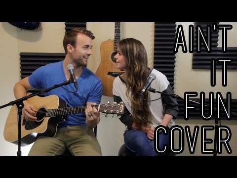 Ain't it Fun - Paramore - One-Take Cover by Kenzie Nimmo