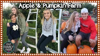 PICKING APPLES & PUMPKINS ~ FAMILY TRADITIONS!