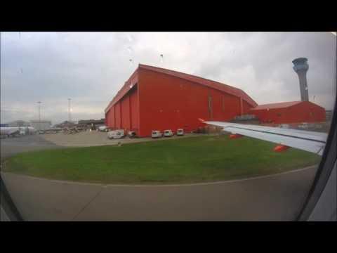 easyJet A319 London Luton to Reykjavik/Keflavik full flight