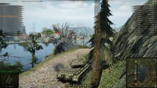 Т-54 перший зразок, Ласвилль, Стандартний бій
