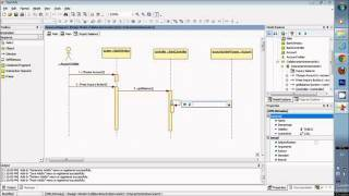 Star UML Sequence Diagram (Design Model) with Documents in Description