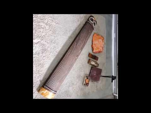 琴 十三弦 すだれ彫り 練習用 箏 譜面台付 買取 出張リサイクルショップ24時