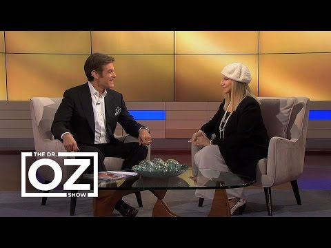 Barbra Streisand Talks To Dr. Oz About How She Stays Healthy