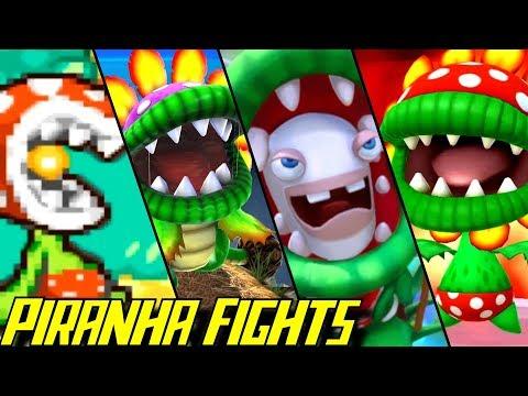 Evolution of Piranha Plant Battles (1995-2017)